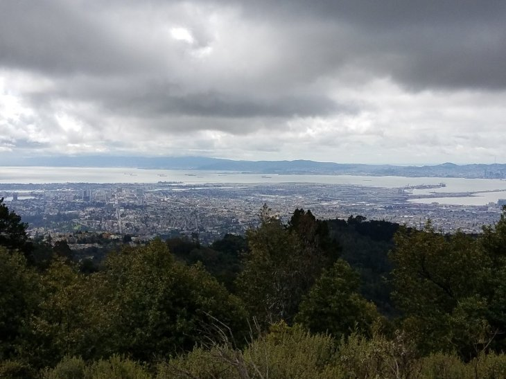 Oakland from Chaparral Peak